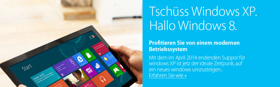 Und Tschüss Windows XP