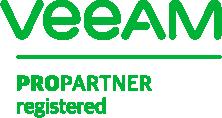 Veeam ProPartner registered